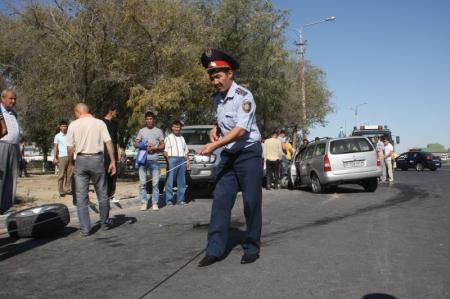 Актауские водители, покидая место ДТП, наживают себе проблемы