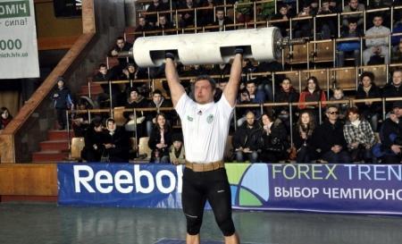 Чемпион Украины по стронгмену Владимир Рекша примет участие в спортивном празднике в Актау