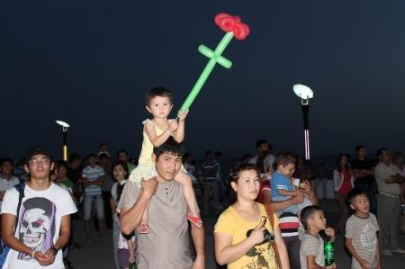 Актау отметил День молодежи