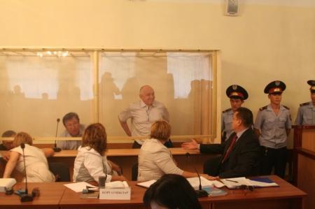 Сегодня в Актау начался суд над Владимиром Козловым (Текстовая трансляция)