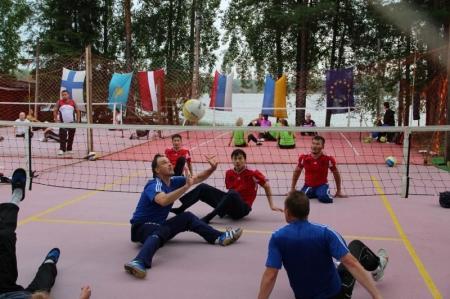Три мангистауские команды приняли участие в международном турнире по волейболу сидя в Финляндии