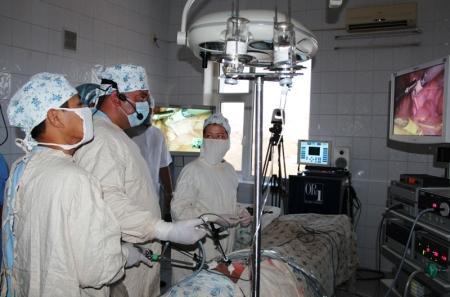 В Актау продолжаются мастер-классы в рамках второго съезда Казахстанской ассоциации эндоскопических хирургов