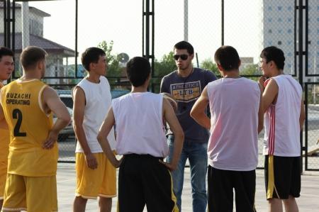 В Актау прошел турнир по баскетболу 3 на 3