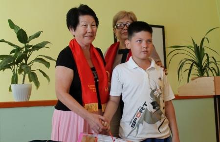 В школе №28 Актау прошла акция «Дорога в школу»