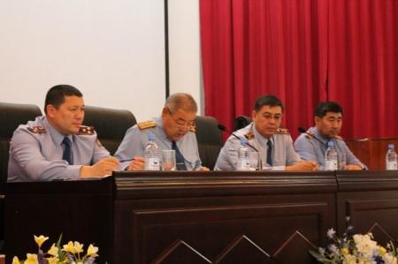 Трое полицейских Мангистау написали рапорты об освобождении перед аттестацией