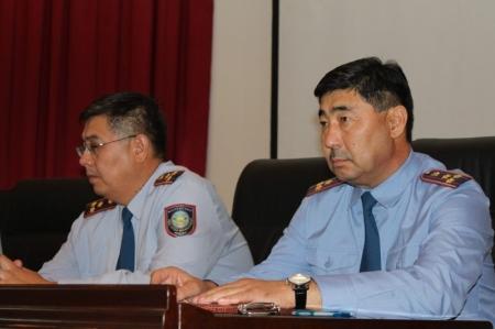 Начальник ДВД Мангистауской области представил своих новых заместителей