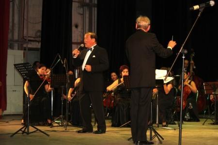 В Актау прошел концерт эстрадно-симфонического оркестра