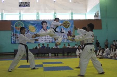 В Актау проходят республиканские соревнования по таэквондо