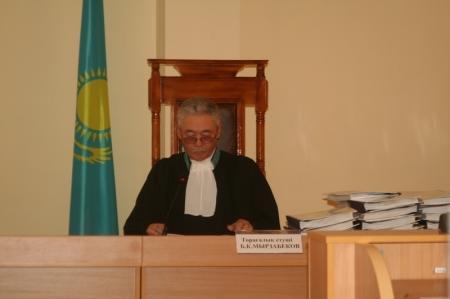В Мангистауском областном суде возобновились слушания по делу Козлова, Сапаргали и Аминова