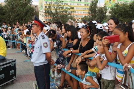 В Актау отметили День Конституции