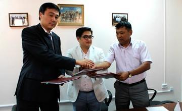 В Актау подписан первый договор экспресс-гарантирования с фондом «Даму»