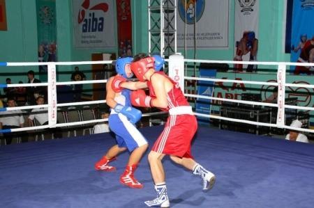 В Актау начались финальные поединки боксерского турнира памяти Шокыра Болтекулы