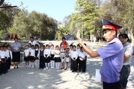 В Актау продолжается оперативно-профилактическое мероприятие «Внимание, дети!»
