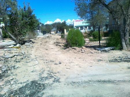 Ремонт дорог в 3 микрорайоне Актау