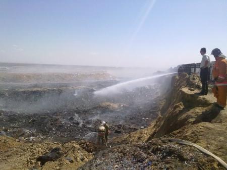 Сотрудники противопожарной службы Актау рассказали о некоторых моментах своей работы