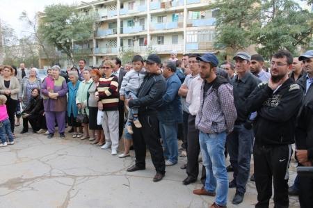 Начальник ДВД встретился с жителями второго микрорайона Актау