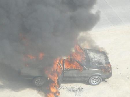 В Мангистау за последнюю неделю сгорели четыре автомашины