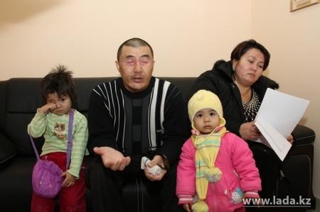 Слепой инвалид из Актау вновь отправился в Астану искать справедливости