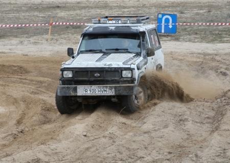 В Актау за базой отдыха «Акку» пройдут автомобильные гонки
