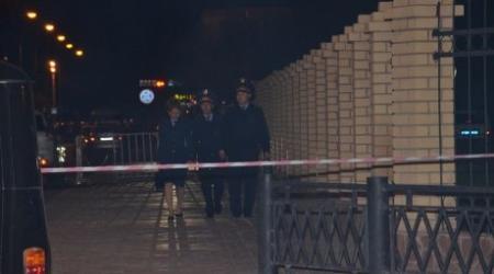 ФОТО: Взрыв прогремел в УВД Атырау