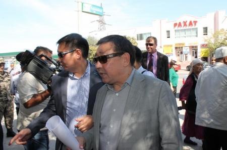 Власти Актау ликвидировали незаконные точки торговли
