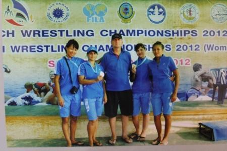 Актауская спортсменка Меруерт Дынбаева завоевала золотую медаль на чемпионате мира по пляжной борьбе