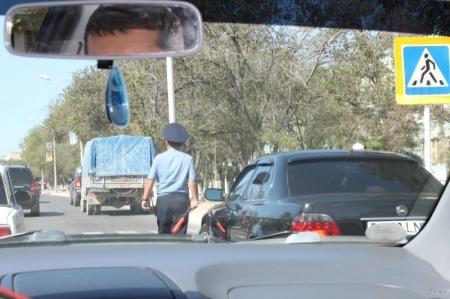 В Мангистау за последнюю неделю задержаны 39 нетрезвых водителей