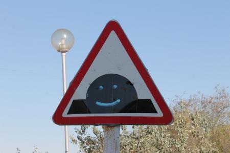 В Актау появился новый дорожный знак