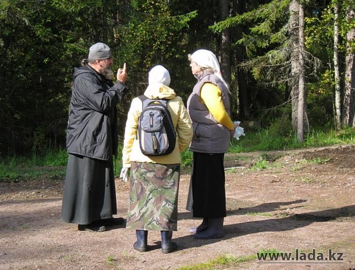 Неделя в монастыре