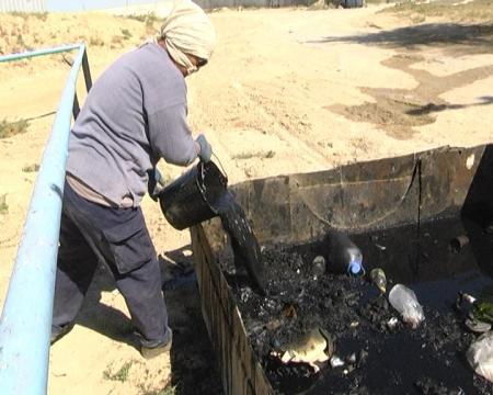 Жанаозен может погрязнуть в нечистотах (ВИДЕО)