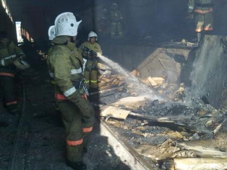 В Актау за восемь месяцев зарегистрировано 84 пожара