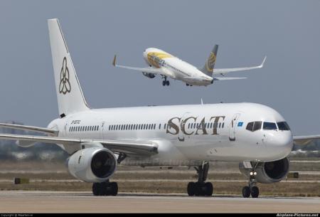 Авиакомпания SCAT назначена на обслуживание линии Актау—Волгоград