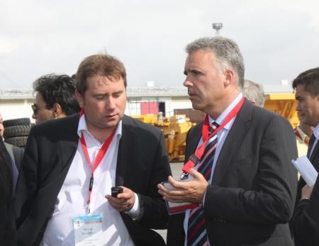 Делегаты инвестиционного форума ознакомились с работой «СЭЗ «Морпорт Актау» и РГП «Актауский международный торговый порт»