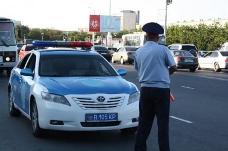 В Мангистау за последнюю неделю задержаны 579 лихачей и 44 нетрезвых водителя