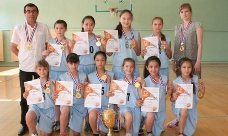 Юные актауские баскетболистки стали чемпионками Казахстана