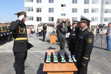 Военнослужащим Актау вручили ключи от квартир