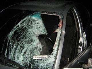 В Актау в результате дорожной аварии в реанимацию попал бомж