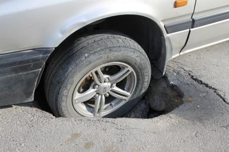 Ямы на дорогах- кто виноват?