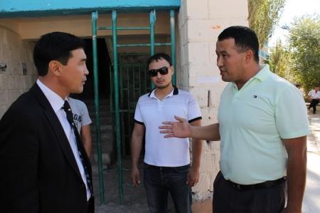 В Актау началась выборочная проверка домов на предмет готовности к зиме