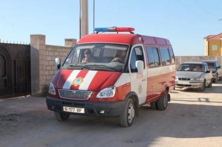 Пожарные Актау провели рейд в жилом массиве «Приморский»