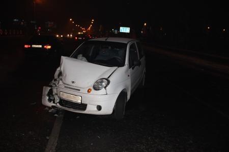 В Актау за один день зарегистрированы три дорожные аварии с пострадавшими