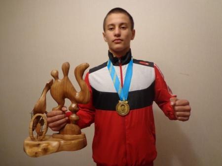 Актауский спортстмен Алмаз Шаймарданов стал чемпионом республиканского турнира по греко-римской борьбе