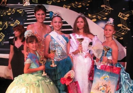 С победой вернулись юные красавицы Актау с конкурса «Little Miss World -2012»