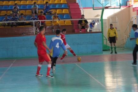 В Актау прошли соревнования по мини- футболу среди пожарных