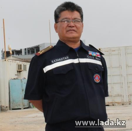 Поздравление с Днем спасателя начальника ДЧС Мангистауской области