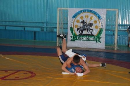 В Актау прошел турнир по национальной башкирской борьбе Курэш