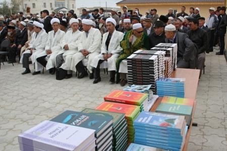 В селе Атамекен Мангистауской области открыли новую мечеть