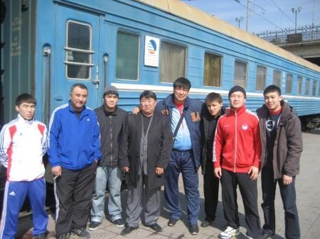 Актауские борцы завоевали три медали на Кубке РК по вольной борьбе