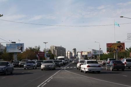 В Актау в результате дорожной аварии молодая женщина попала в реанимацию