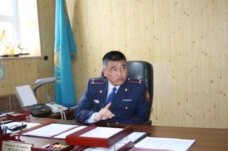В УВД Актау назначен новый руководитель